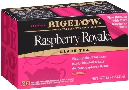 Tea, Bigelow® Black Tea, Raspberry Royale® 1.18 oz Box (20 Bags)