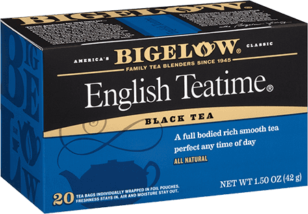 Tea, Bigelow® Black Tea, English Teatime® 1.5 oz Box (20 Bags)