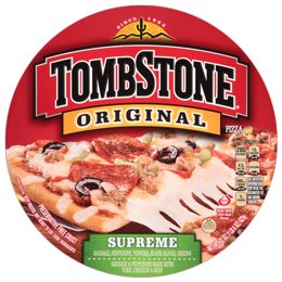 Frozen Pizza, Tombstone® Supreme Pizza (20.8 oz Bag)