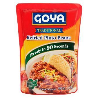 """Refried Pinto Beans, Goya® """"Traditional"""" Refried Pinto Beans (16 oz Bag)"""