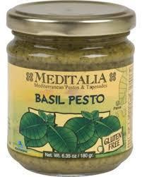 Pasta Sauce, Meditalia® Basil Pesto (4.2 oz Jar)
