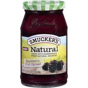Fruit Spread, Smucker's® Natural Blackberry Fruit Spread (17.25 oz Jar)