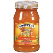 Fruit Spread, Smucker's® Simply Fruit Apricot Spread (10 oz Jar)