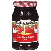 Fruit Spread, Smucker's® Seedless Red Raspberry Jam (18 oz Jar)