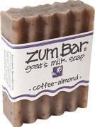 Soap, Zum Bar® Coffee-Almond Goats Milk Soap (3 oz Bar)