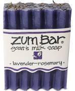 Soap, Zum Bar® Lavender-Rosemary Goats Milk Soap (3 oz Bar)