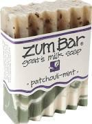Soap, Zum Bar® Patchouli-Mint Goats Milk Soap (3 oz Bar)