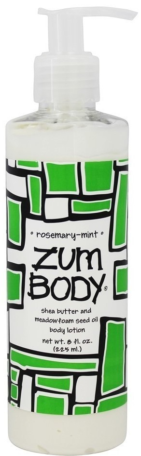 Body Lotion, Zum Body® Rosemary-Mint Body Lotion (8 oz Pump Bottle)