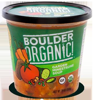 Fresh Organic Soup, Boulder Organic® Organic, Garden Minestrone Soup (24 oz Cup)