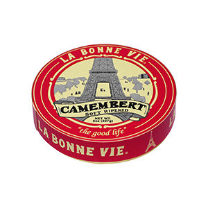 Cheese, La Bonne Vie® Camembert Cheese, 8 oz Wheel