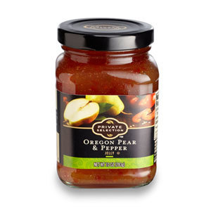 Jelly, Private Selection® Oregon Pear and Pepper Jelly, 10 oz Jar