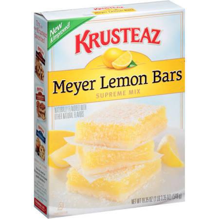 Lemon Bar Mix, Krusteaz® Meyer Lemon Bar Mix (19.35 oz Box)
