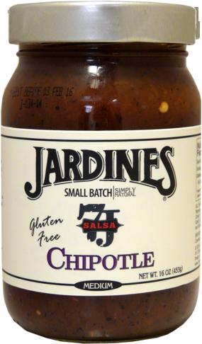Salsa, Jardines® Chipolte Salsa, Medium (16 oz Jar)