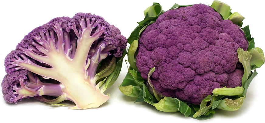 Produce, Vegetable, Cauliflower, Purple, Priced per Pound