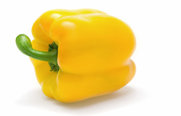 Fresh Bell Pepper, Organic Yellow Bell Peppers (Priced Each)