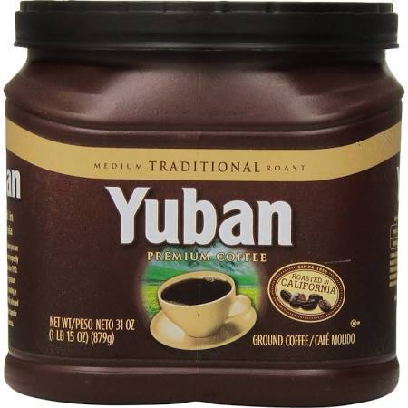 Ground Coffee, Yuban® Traditional Roast® Ground Coffee (31 oz Tub)