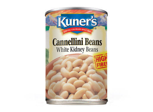 Canned Beans, Kuner's® Cannellini Beans (15 oz Can)