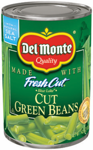 """Canned Green Beans, Del Monte® """"Fresh Cut"""" Green Beans (14.5 oz Can)"""