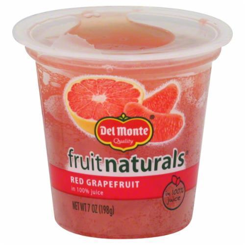 Fruit, Del Monte® Fruit Naturals® Red Grapefruit (7 oz Cup)