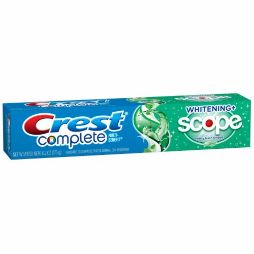 Toothpaste, Crest® Complete Whitening Plus Scope (6.2 oz Box)