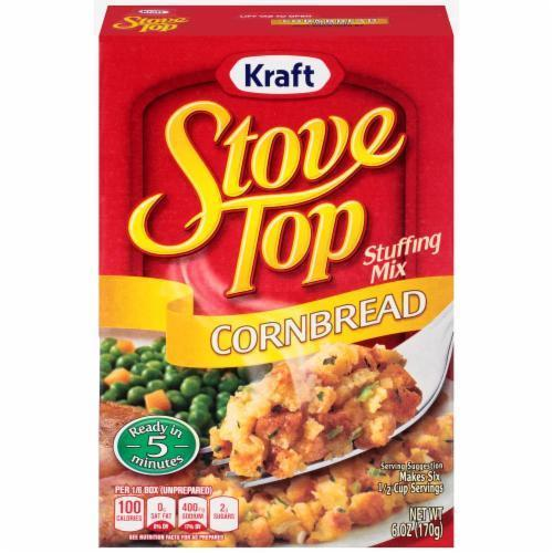 Stuffing Bread, Kraft® Stove Top® Corn Bread Stuffing Mix (6 oz Box)