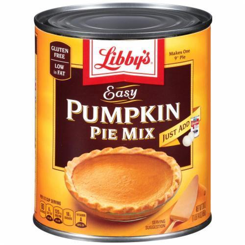 Canned Pumpkin, Libby's® Easy Pumpkin Pie Mix (30 oz Can)