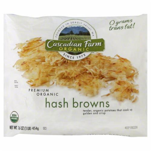 Frozen Potatoes, Cascadian Farm® Shredded Hash Browns (16 oz Bag)