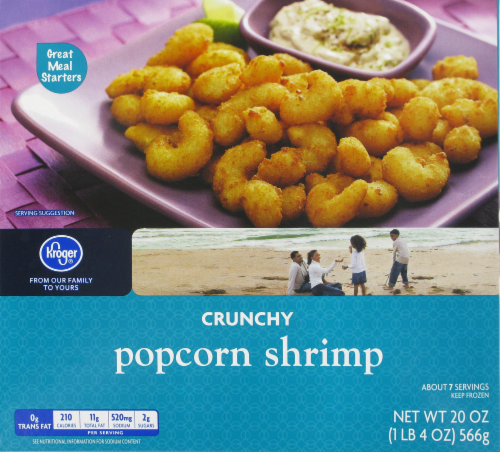Frozen Shrimp, Kroger® Crunchy Popcorn Shrimp (20 oz Box)