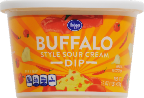 Sour Cream Dip, Kroger® Buffalo Ranch Sour Cream Dip (16 oz Tub)