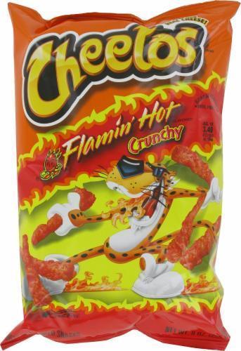 Snack, Frito-Lay® Cheetos® Flamin' Hot Crunchy (8.5 oz Bag)