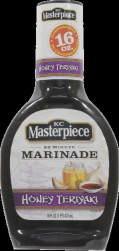 Teriyaki Sauce, KC Masterpiece® Honey Teriyaki Marinade (16 oz Bottle)