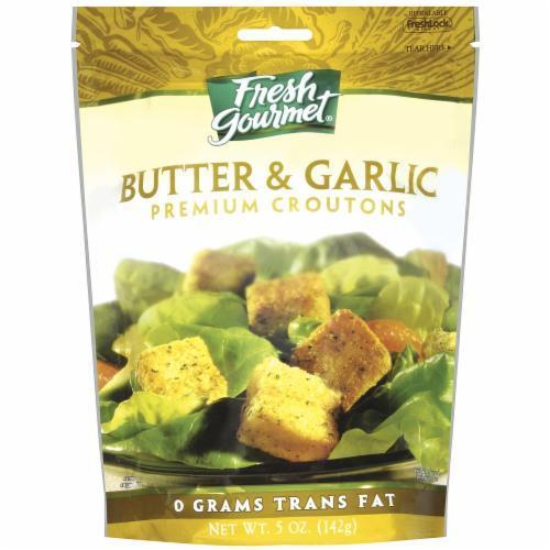Salad Croutons, Fresh Gourmet® Butter & Garlic Croutons (5 oz Bag)