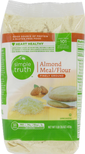 Baking Flour, Simple Truth™ Almond Meal Four (16 oz Bag)