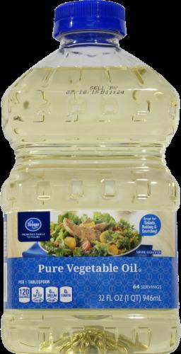 Vegetable Oil, Kroger® Pure Vegetable Oil ( 32 oz Bottle)