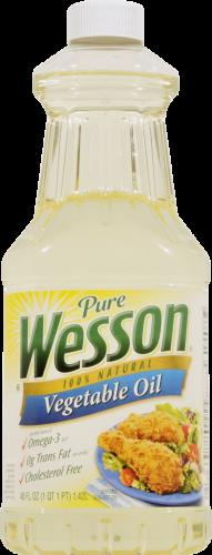 Canola Oil, Wesson® Pure Vegetable Oil ( 48 oz Bottle)