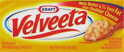Cheese, Kraft® Velveeta® Original Cheese (16 oz Box)