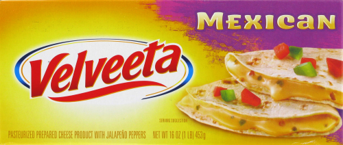 Cheese, Kraft® Velveeta® Mexican Cheese (16 oz Box)