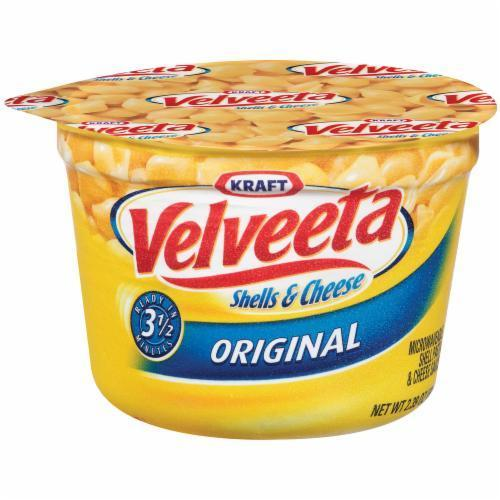 Mac N Cheese Cup, Kraft® Velveeta® Shells 'N' Cheese (Single 2.39 oz Cup)