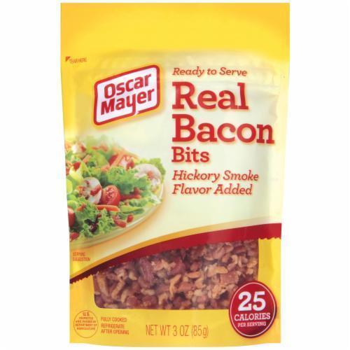 Bacon Bits, Oscar Mayer® Real Bacon Bits (3 oz Bag)