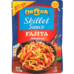 Chile Sauce, Ortega® Cilantro & Green Chile Skillet Sauce (7 oz Bag)