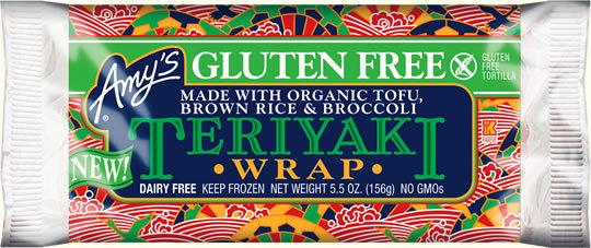 Wrap, Amy's® Gluten Free Teriyaki Wrap (5.5 oz Bag)