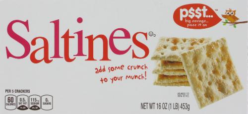 Saltine Crackers, P$$t...® Saltine Crackers (16 oz Box)