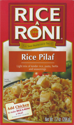 Rice, Rice A Roni® Rice Pilaf (7.2 oz Box)