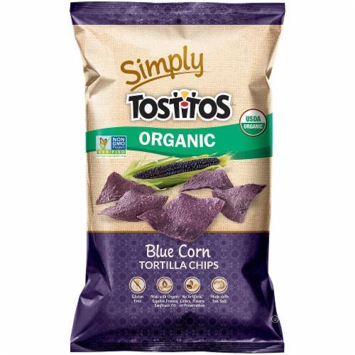 Tortilla Chips, Simply Tostitos® Organic Blue Corn Tortilla Chips ( 8.25 oz Bag)