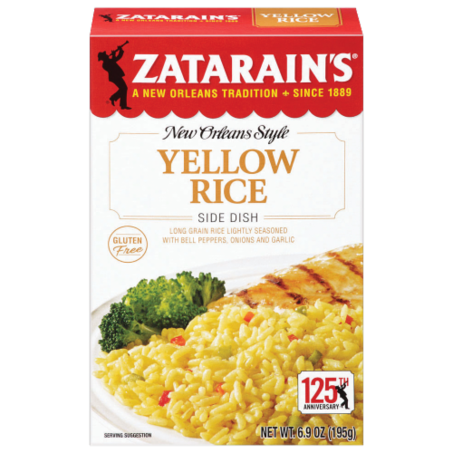 Rice, Zatarain's® New Orleans Style Yellow Rice (6.9 oz Box)