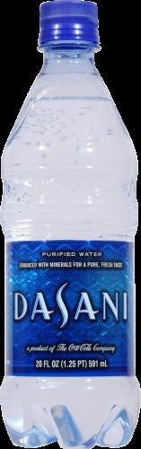 Drinking Water, Dasani® Purified Bottled Water (Single 16.9 oz Bottle)