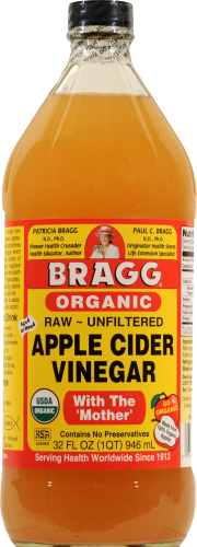 Apple Cider Vinegar, Bragg® Apple Cider Vinegar (32 oz Bottle)