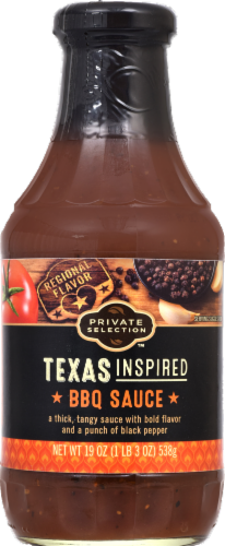 BBQ Sauce, Private Selection® Texas Inspired BBQ Sauce (19 oz Bottle)