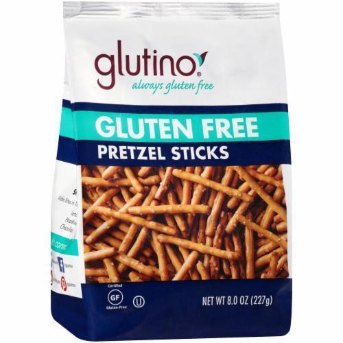 Pretzels, Glutino® Gluten Free Pretzel Sticks (8 oz Bag)