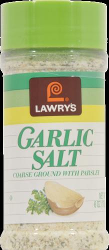 Seasonings, Lawry's® Garlic Salt (6 oz Jar)